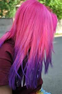 purple and pink hair color picture 7