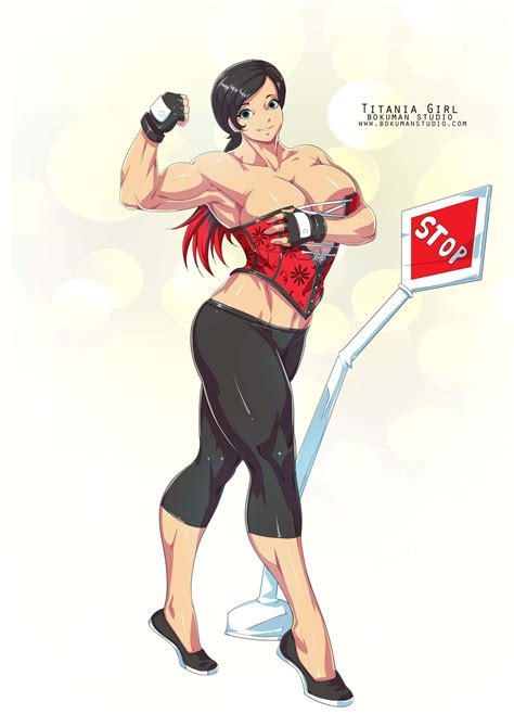 female muscle expansions picture 6