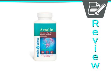 actalin thyroid supplement reviews picture 1