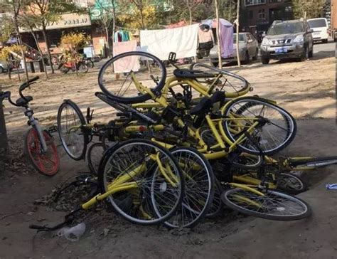 bike piles picture 1