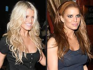 Jessica simpson red hair picture 13