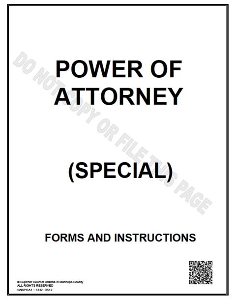 joint power of attorney form arizona picture 11
