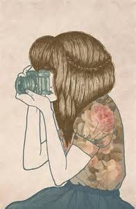 camera girl hair picture 17