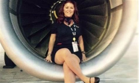 flight attendant taking thyromine picture 1