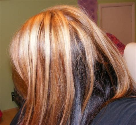 can dyed red hair go to brunette picture 12