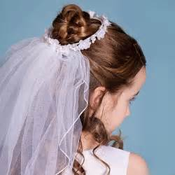 hairstyles for communion short hair picture 6
