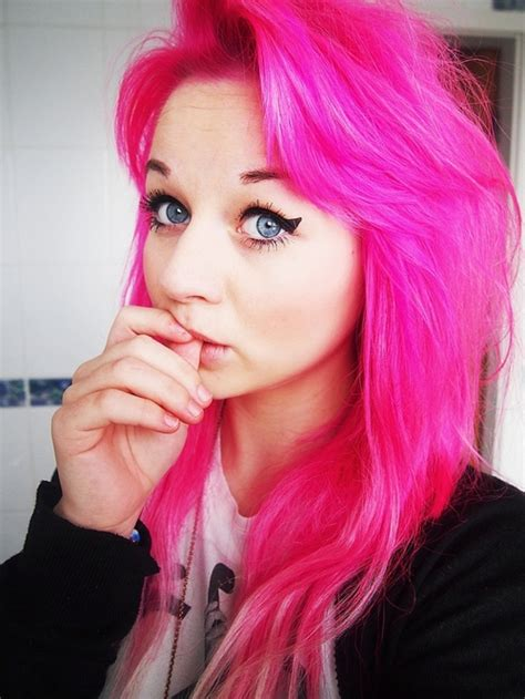 pink hair dye picture 10