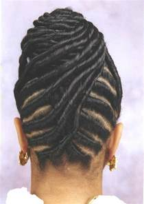 pictures of black hairstyles of flat twists picture 7