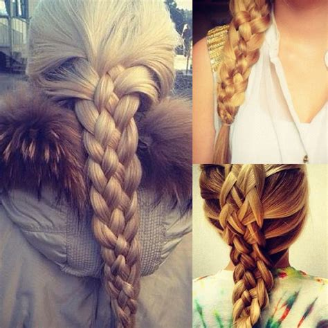5 stranded braid hair picture 2