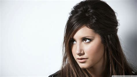 ashley tisdale with brown hair picture 7