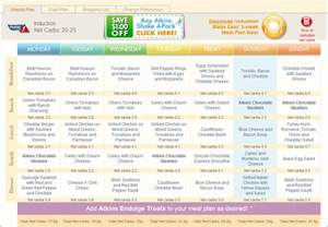 atkins diet menus picture 11