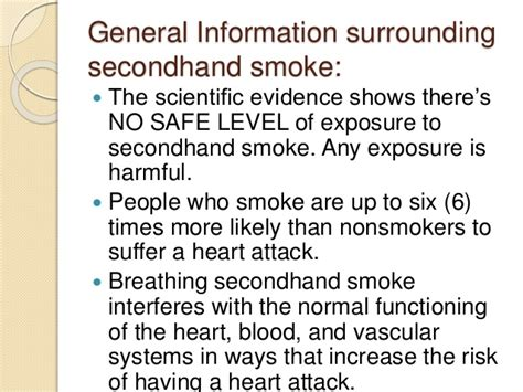 is second hand smoke absorbed into bloodstream picture 5
