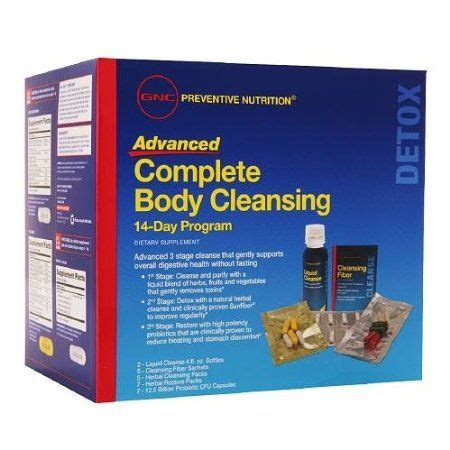 gnc preventive nutrition complete body cleansing 7 day picture 7