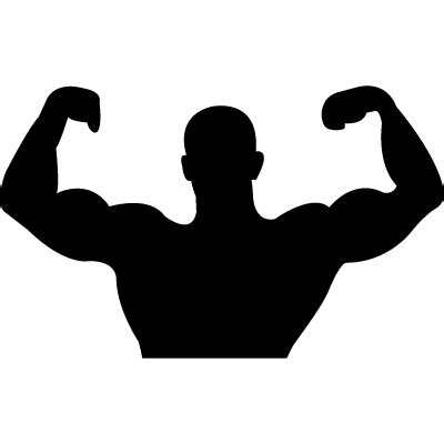 free muscle man clipart picture 14