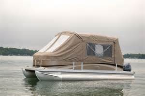 pontoon boats canvas sleeping picture 11