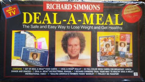 Richard simmons deal a meal weight loss program picture 3