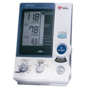 Omron blood pressure monitor picture 10