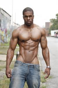 black muscle abs picture 1