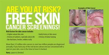 free skin cancer screenings picture 5