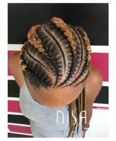 pictures of feed-in cornrow hairstyles picture 3