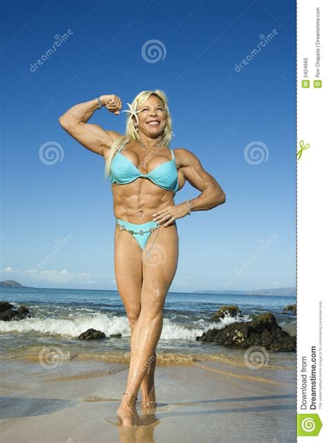 female flexing muscles picture 9