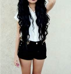 black hair fashion picture 3