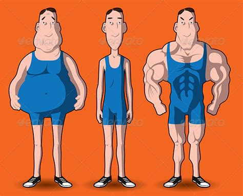 cartoon male muscle transformation picture 5