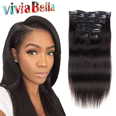 african american hair extension clip ins picture 1