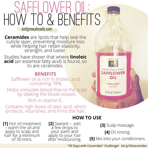 safflower oil for frizzed hair picture 1