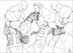 muscle body giant murph cartoon art picture 2