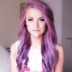 purple and pink hair color picture 1