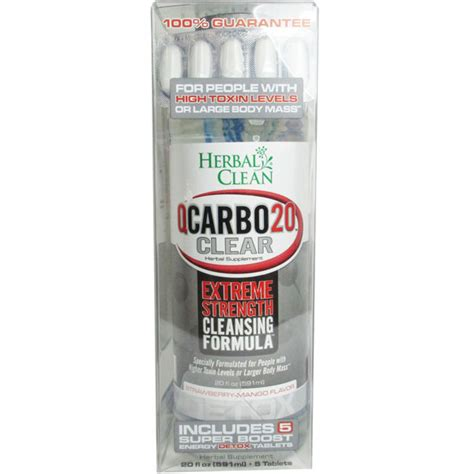 herbal clean qcarbo20 clear detox does it work picture 1
