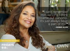 debbie allen has long hair picture 2