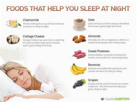 foods for sleep picture 1