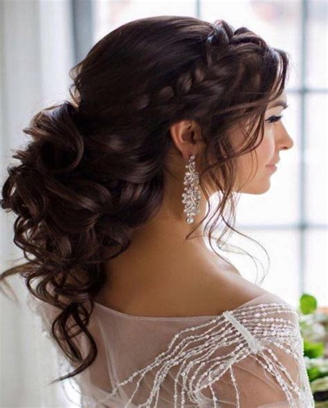 curly hair wedding updos picture 6