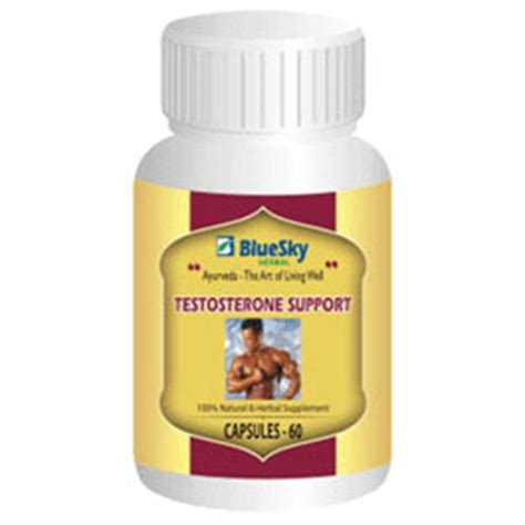 bluesky herbal testosterone support 500 mg 60 capsules picture 1