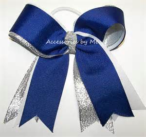 cheerleading hair ribbon picture 6