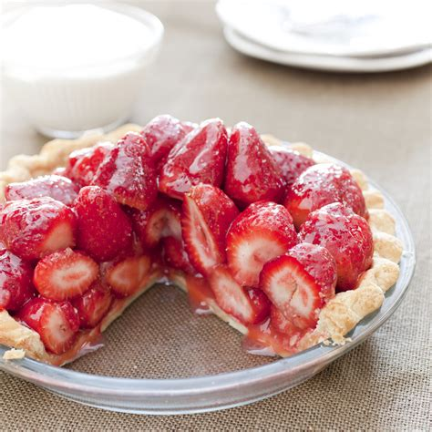 fresh strawberry pie - for diabetics picture 6