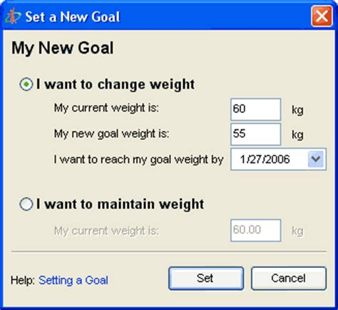 setting weight loss goals picture 10