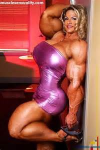 female muscle morphs on my space picture 1