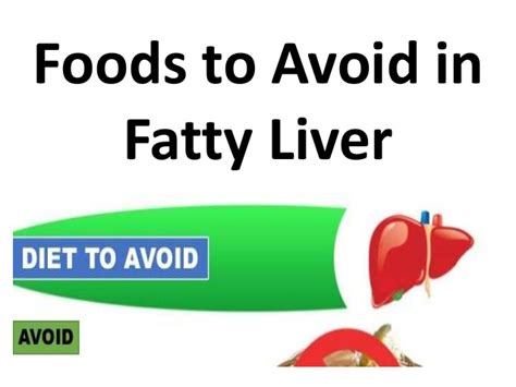 what foods to avoid with a fatty liver picture 5