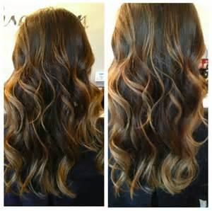 dark brown hair caramel highlights picture 9