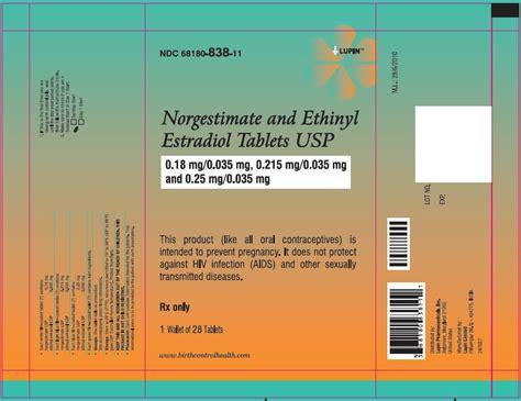 norgestimate / ethinyl estradiol picture 5