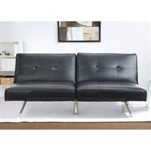 black leather sofa sleepers picture 11