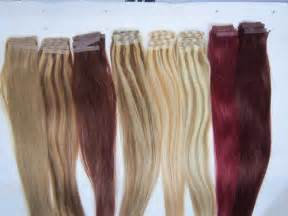 how to clue in hair extensions picture 6