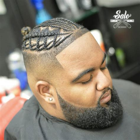 black man hair braids style picture 7