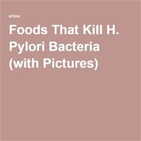 kill h bacteria naturally picture 1