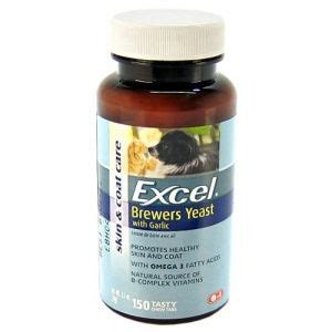 excel brewers yeast fatty acids & garlic supplement picture 1