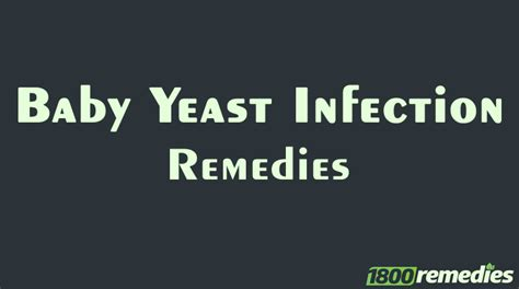 yeast infection relief infants picture 2