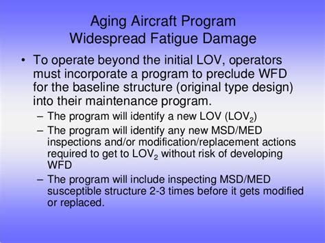 aging airplane inspection and maintenance baseline checklist picture 1